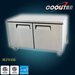Stainless Steel Auto-Closing Door Kitchen Undercounter Freezer (MGF8406) pictures & photos