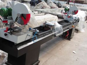 Sj02-3500 Double-Head Cutting Saw for PVC Profile pictures & photos