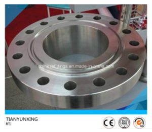 A182 TP304L Stainless Steel Slip on Rtj Flange pictures & photos