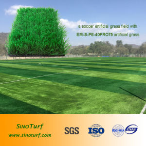 High Density Artificial Grass (synthetic turf) for Football, Baby Playground, Landscaping pictures & photos