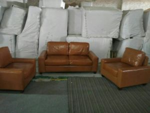 Canada Leather Sofa, Sectional Sofa, Living Room Furniture (A07) pictures & photos