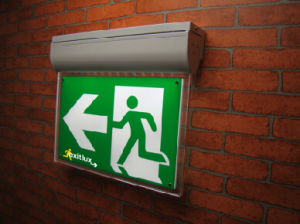 Self-Test LED Emergency Exit Signs pictures & photos