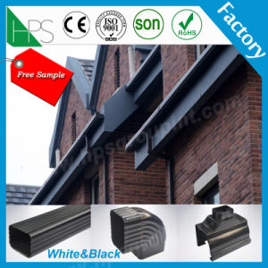 PVC Pipe Fitting Plastics Products Rain Gutter pictures & photos