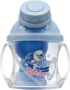 Soft Spout Sippy Cups Baby Water Training Transition Cups with Straw pictures & photos