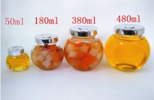 Machine Made Glass Jar with Metal Clip / Glass Storage Jar, Food Storage Container pictures & photos