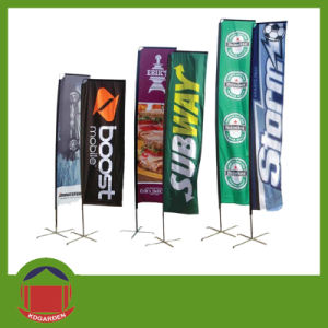 Square Flag Banner with Customer Printing pictures & photos