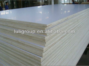 HPL Plywood, White Glossy HPL Lacquered Plywood in Sale! pictures & photos