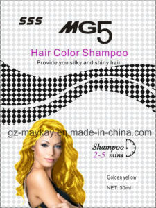 Mg 5 Hair Color Shampoo (Gloden Yellow) 30ml pictures & photos