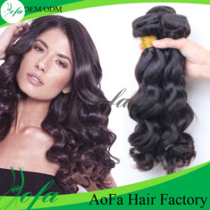 Unprocessed 7A Top Quality Natural Wave 100% Virgin Human Hair pictures & photos