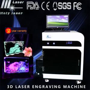 3D Inside Crystal Laser Engraving Machine/CD Laser Engraving Machine pictures & photos