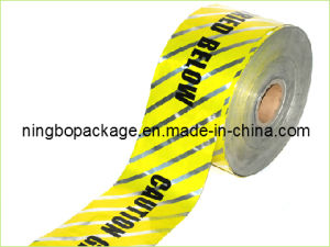 Aluminum Foil Underground Detectable Warning Tape for Pipes pictures & photos