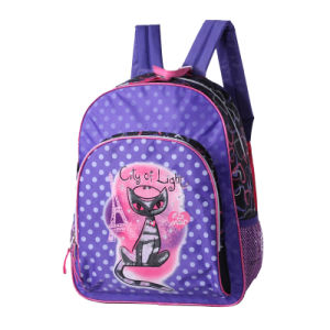 Girl School Backpack for School Children pictures & photos