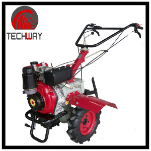 6.0HP 5gears Gear Driving Diesel Tiller (TWDT1000B) pictures & photos