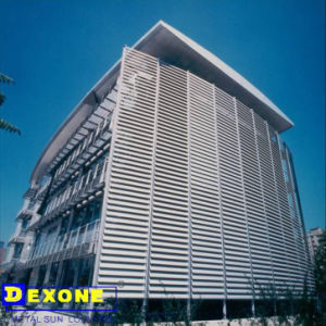 Outdoor Use Aluminum Ventilation Sun Shade Louver