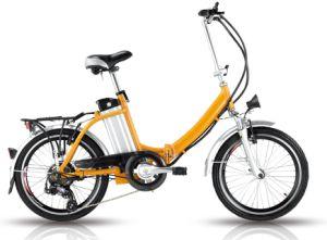 Magnesium Aluminum Wheel Folding Electric Bike for Israel pictures & photos