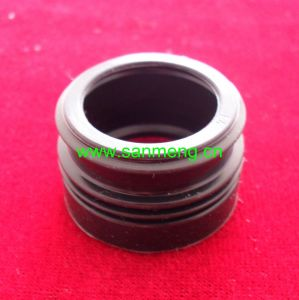 Custom Plastic Silicone Rubber Bushing Sleeve Nut pictures & photos