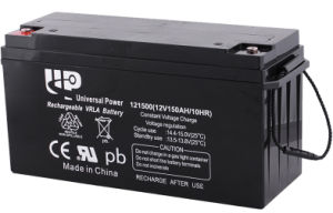 UPS Solar Deep Cycle AGM Lead Acid Battery 12V150ah 5 Years Warranty