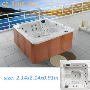 Acrylic Jacuzzi Surfing Bathtub Whirlpool Hot Tub pictures & photos
