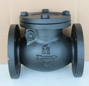 ANSI Flang Cast Iron Check Valve pictures & photos