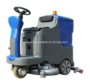 Electric Ride on Floor Cleaning Scrubber Machine pictures & photos