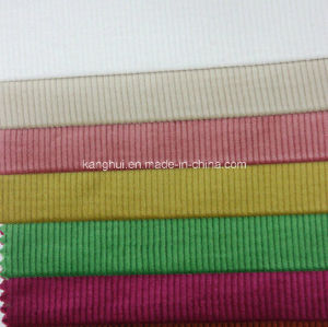16 Wale Wide Stretch Cotton Corduroy Fabric for Pants and Shirts