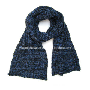 Fashion New Lady Scarf Winter Cashmere Knitting Scarves pictures & photos
