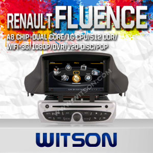 Witson Car DVD with GPS for Renault Megane III (2009-2011) / Fluence (W2-C145) pictures & photos