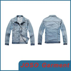 Men Faded Denim Jean Jacket (JC7007) pictures & photos