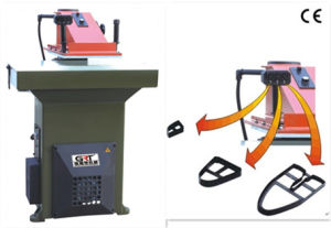 Hydraulic Clicker Press Machine with 3 Buttons 22t and 27t pictures & photos