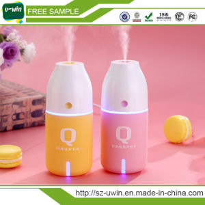 Hot Sale Portable Desk USB Ultrasonic Humidifier with LED Nightlight pictures & photos