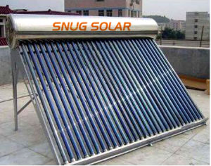 300L Excellent Quality Non-Pressurized Solar Water Heater pictures & photos