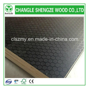 1220*2440*18mm WBP Glue Anti-Slip Shuttering Plywood pictures & photos