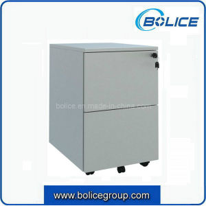 2 Drawers Metal Mobile Cabinet for Office Use pictures & photos