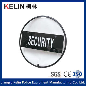 Round Shield with Rubber Frame for Personal Protection pictures & photos