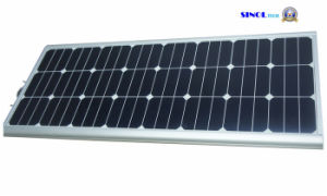 60W LED Street Light Integrated with Sunpower PV pictures & photos