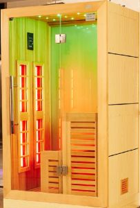 Monalisa 2016 Jade Wall with Light Far Infrared Sauna House (I-012) pictures & photos
