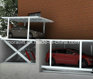 Heavy Load Hydraulic Scissor Car Parking Lift for Sale pictures & photos