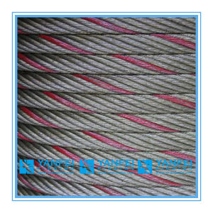 Red Painted Steel Wire Rope Cable pictures & photos
