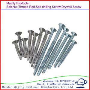 Yellow Zinc Plated Chipboard Screws pictures & photos