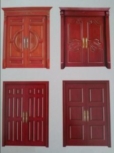 High Quality Solid Wooden Door pictures & photos
