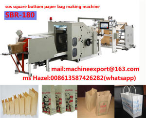 Fully Automatically Paper Bag Making Machine SBR Model Price pictures & photos