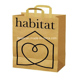 Kraft Paper Bag, Paper Bags, Shopping Paper Bags, Luxury Paper Bags, Kraft Paper Bag as Your Design (TW-PSB0043)