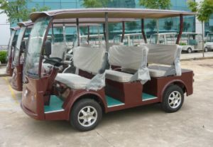 China Best 8 Seater Electric Sightseeing Bus Made by Dongfeng on Sale pictures & photos
