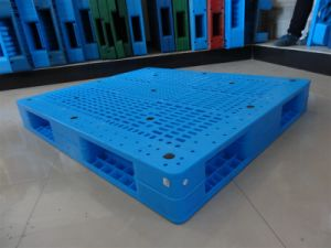 Heavy Duty Double Faced Plastic Pallet pictures & photos