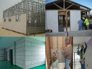 Calcium Silicate Board, Heat Insulation, Fireproof Waterproof Cladding Siding Exterior pictures & photos