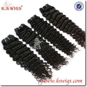 Full Cuticle Unprocessed Natural Virgin Indian Hair Extension pictures & photos