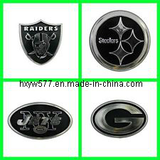 Black Painted Chrome Finished Nameplate pictures & photos