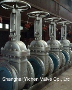 Manual Operated Flanged Cast Steel Gate Valve pictures & photos
