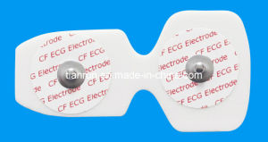 Disposable ECG Monitoring Electrode, PE Foam Backing, 46*88mm pictures & photos