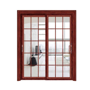 2017 New Design Aluminum Sliding Door with Low Price pictures & photos